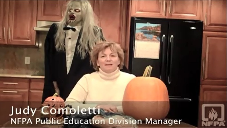 NFPA Halloween Safety Tips - links to a video on an external independent website