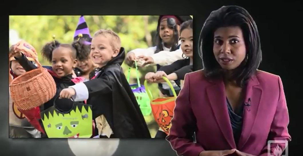 NFPA Halloween Safety Tips for Children - links to a video on an external independent website