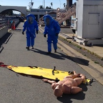 Special Operations - image of hazmat team responding to a drill exercise